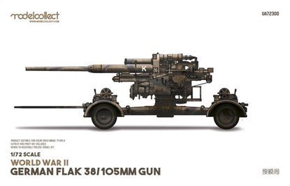 Picture of World War II German Flak 38/105mm gun